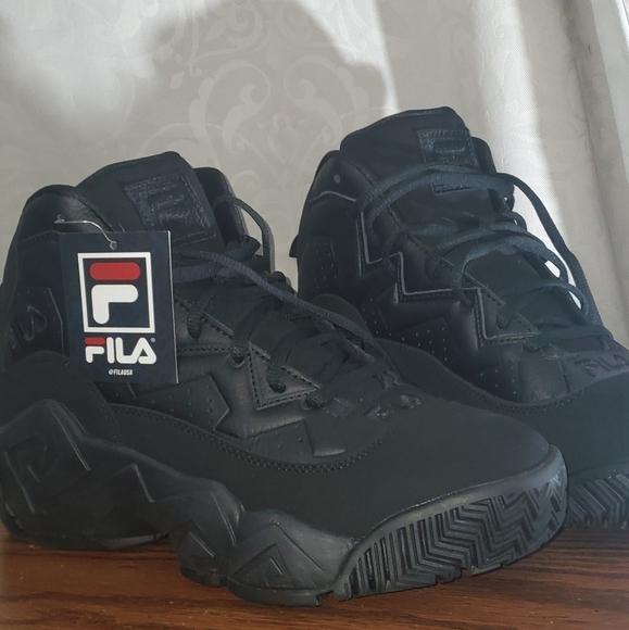 Fila Shoes | Fila Mb Triple Black Jamal